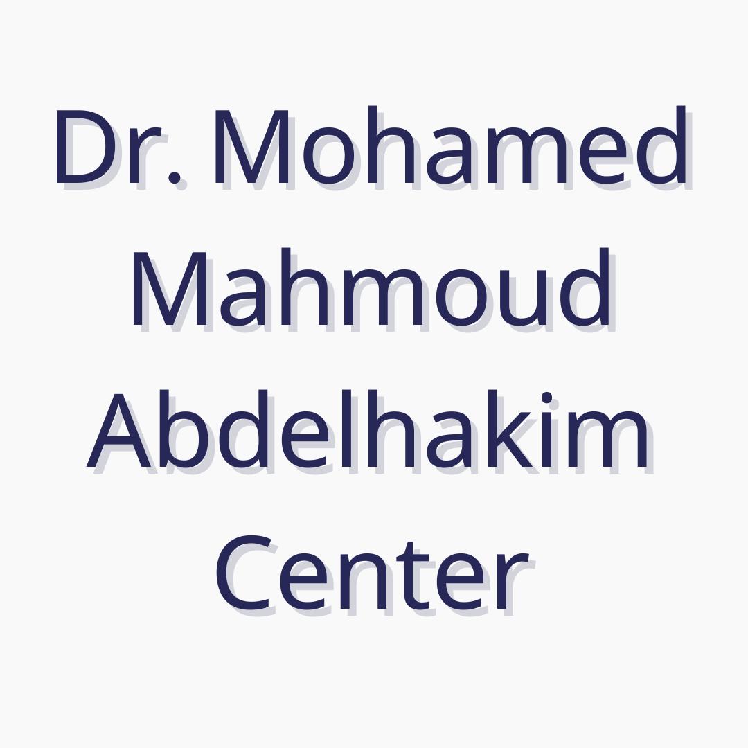 Dr. Mohamed Abdel Hakim